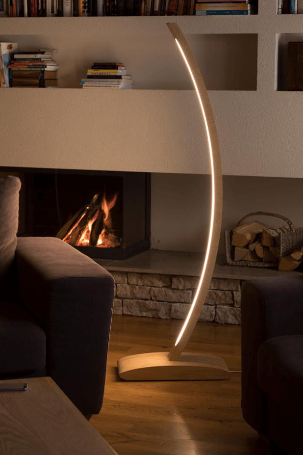 Лампа с уникальным гибким дисайном, которая приносит лесной отблеск в Ваш дом - Straipu
