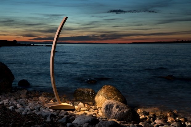Sunset with Straipu floor lamp