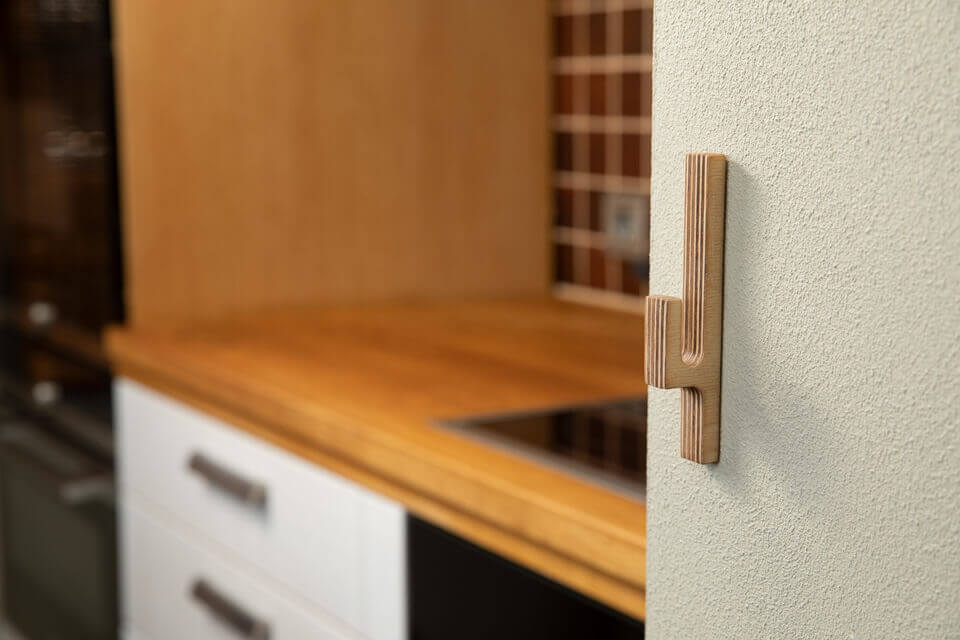 Hooks no 7- Handcrafted Wooden Towel Hook