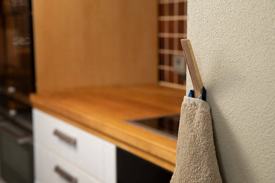 Hooks no 11- Handcrafted Wooden Towel Hook