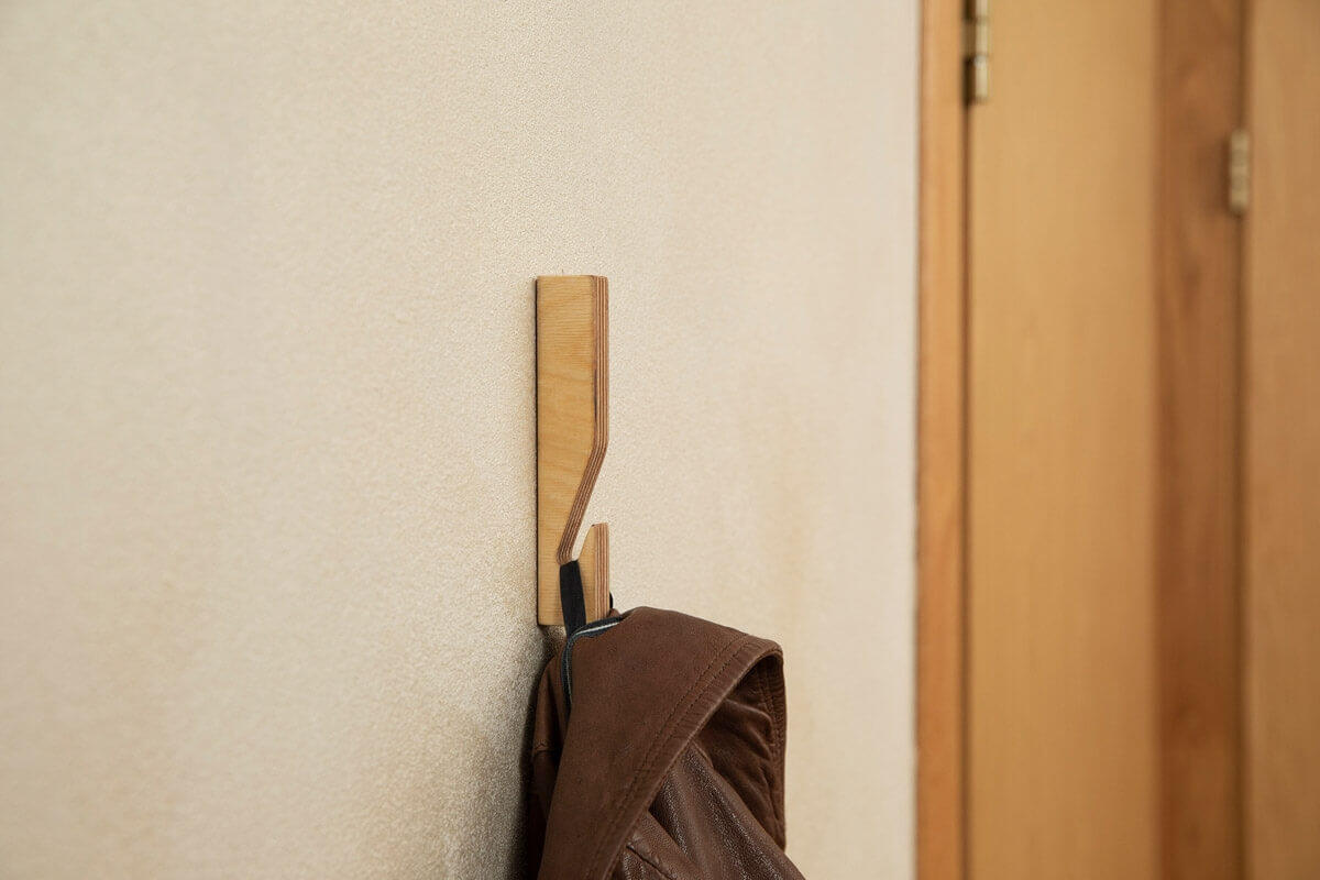 Hooks no 12- Handcrafted Wooden Towel Hook