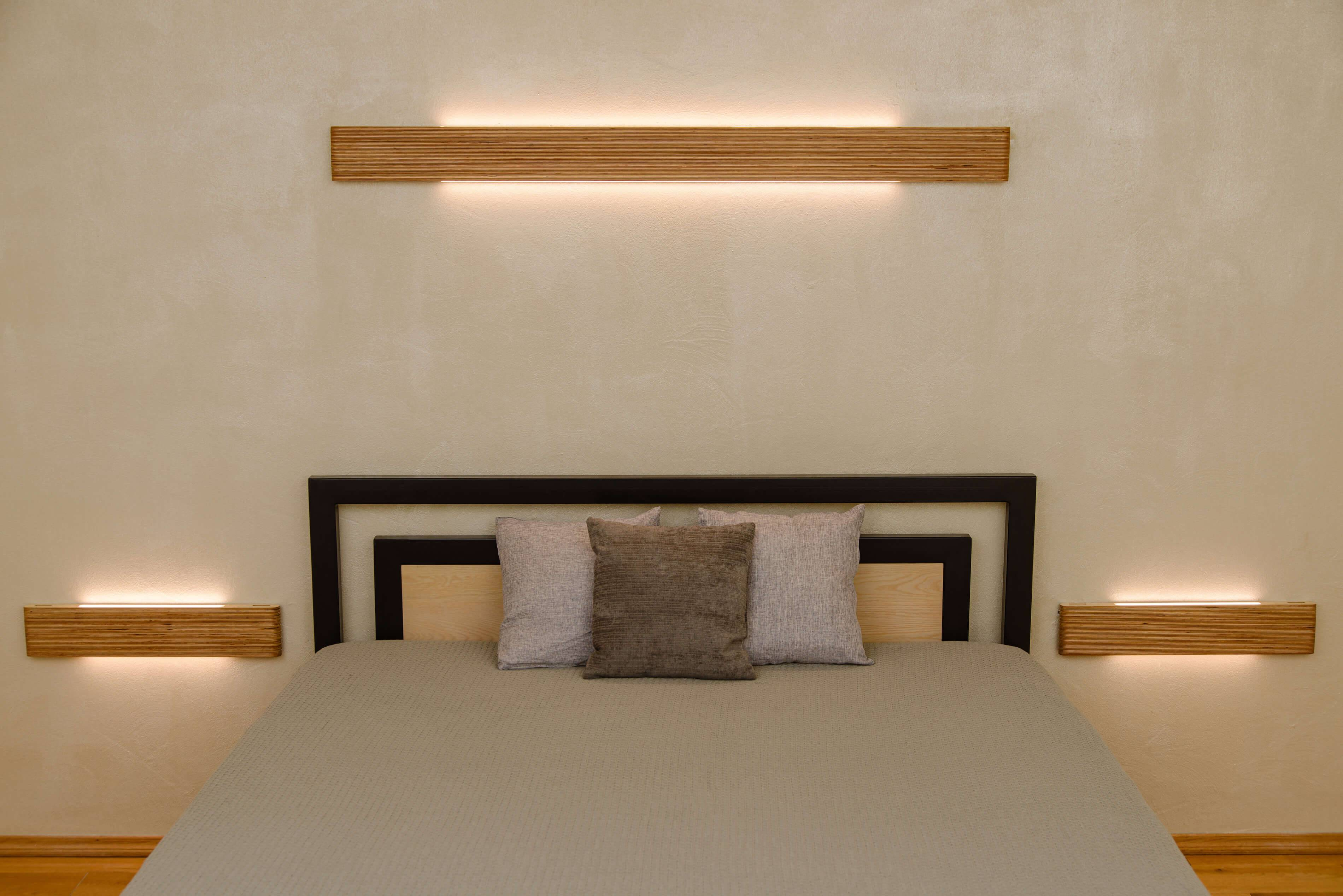 Wall Lamp Stripe Set Of 3pcs Handcrafted Design Wall