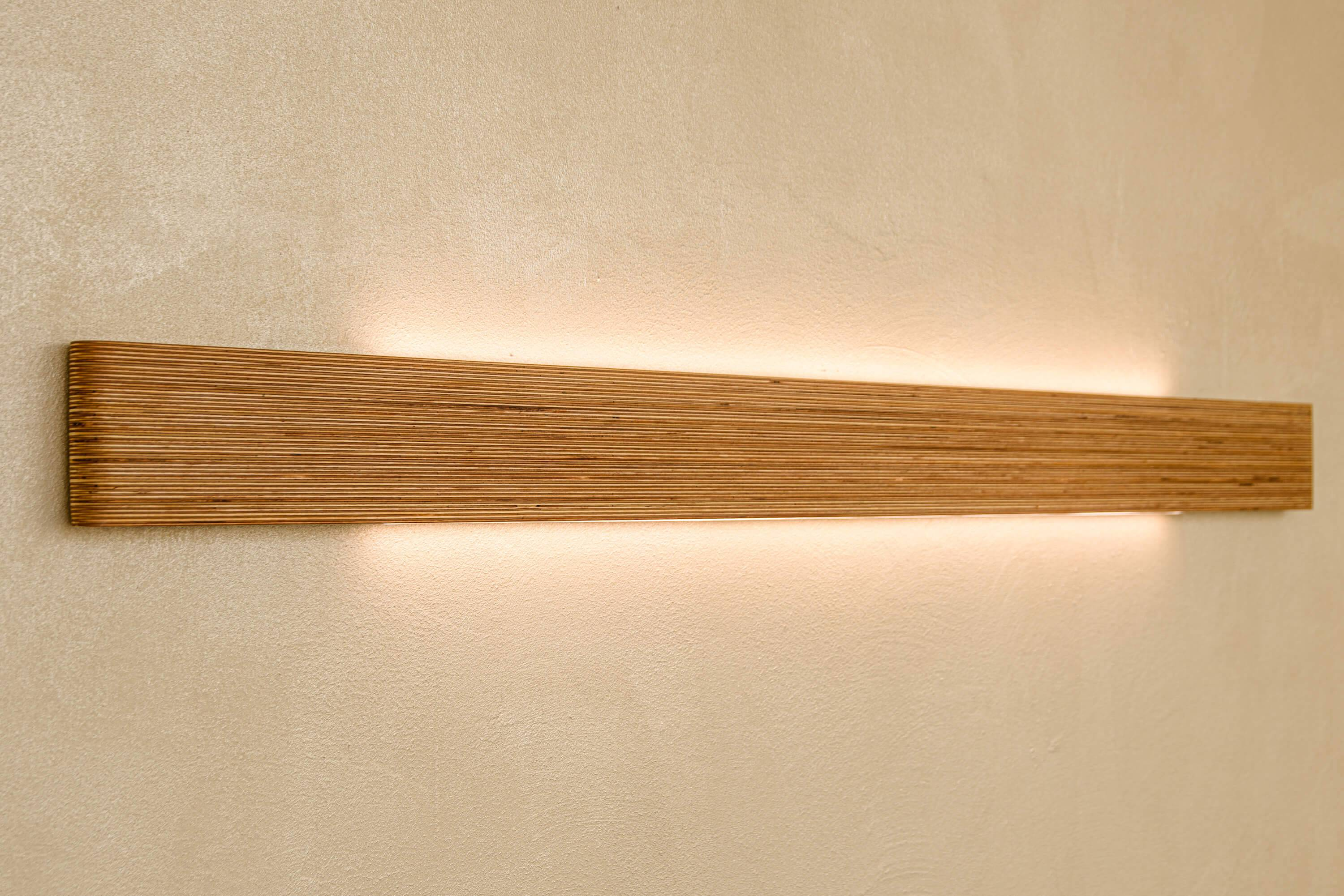 Wall lamp Stripe set of 3pcs - Handcrafted design Wall lamps
